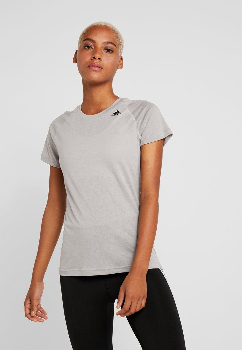 adidas Performance - PRIME - Print T-shirt - solid grey