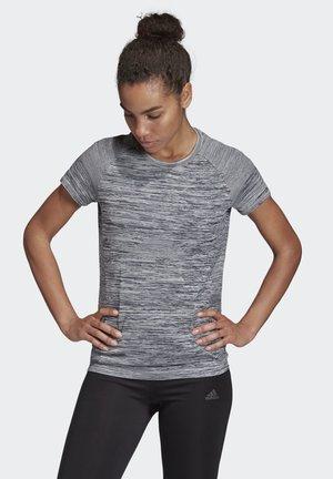 25/7 PRIMEKNIT HD T-SHIRT - T-shirt de sport - grey