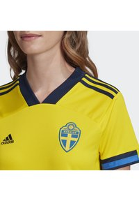 adidas Performance - SWEDEN SVFF HOME JERSEY - Voetbalshirt - Land - yellow - 3