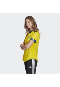 adidas Performance - SWEDEN SVFF HOME JERSEY - Voetbalshirt - Land - yellow - 2