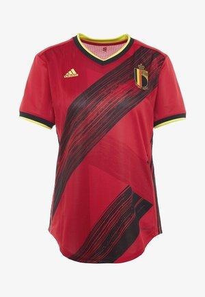 BELGIUM RBFA HOME JERSEY - Oblečení národního týmu - red