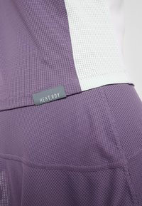 adidas Performance - TEE HEAT.RDY - Print T-shirt - purple - 5