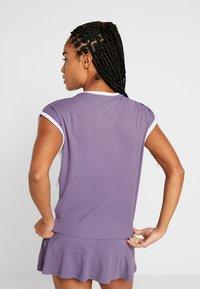 adidas Performance - TEE HEAT.RDY - Print T-shirt - purple - 2
