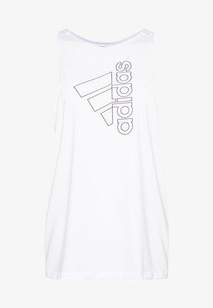 TECH BOS TANK - Sports shirt - white/black