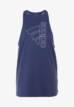 TECH BOS TANK - Koszulka sportowa - tech indigo/white