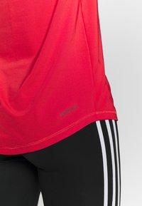 adidas Performance - Print T-shirt - red/white - 5