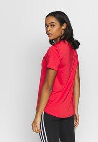 adidas Performance - Print T-shirt - red/white - 2