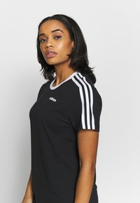 adidas Performance - T-shirt print - black - 3