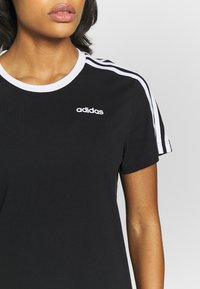adidas Performance - T-shirt print - black - 5