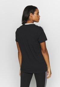 adidas Performance - T-shirt print - black - 2