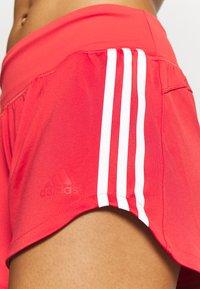 adidas Performance - Sports shorts - glored/gresix/white - 4