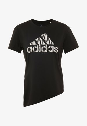IKAT BOS TEE - Print T-shirt - black/white