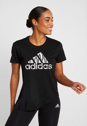 IKAT BOS TEE - T-shirt print - black/white