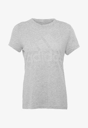 WINNERS TEE - T-shirt z nadrukiem - light grey