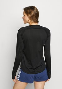 adidas Performance - Long sleeved top - black - 2