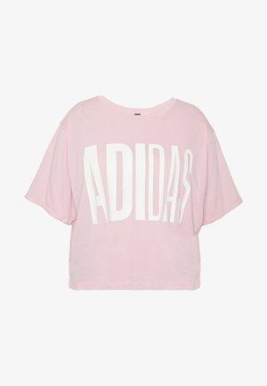 TEE - T-shirts med print - glow pink