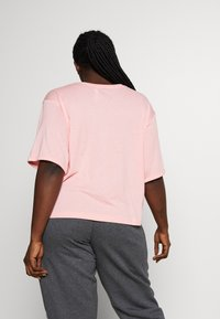 adidas Performance - TEE - T-shirts med print - glow pink - 2