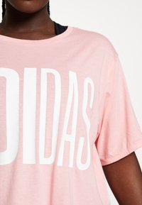adidas Performance - TEE - T-shirts med print - glow pink - 5