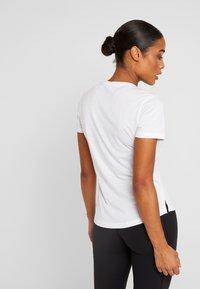 adidas Performance - PRIME TEE - Sports shirt - white - 2
