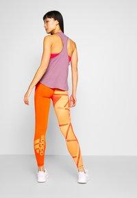 adidas Performance - ASK - Leggings - ambtin/gloamb - 2