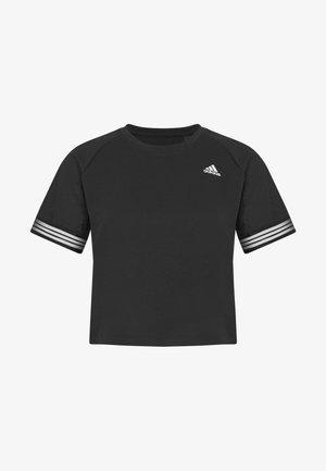 RINGER TEE - T-shirt imprimé - black/white