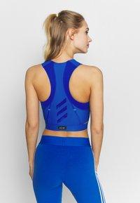 adidas Performance - HEAT.RDY TANK - Funkční triko - glow blue - 2