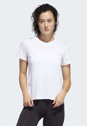 GO-TO T-SHIRT - T-shirt print - white