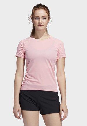 RISE UP N RUN PARLEY T-SHIRT - T-Shirt basic - glory pink
