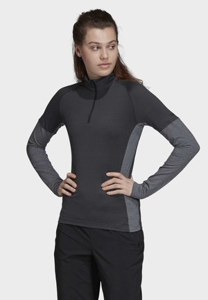 TERREX XPERIOR LONG-SLEEVE TOP - Sports shirt - grey
