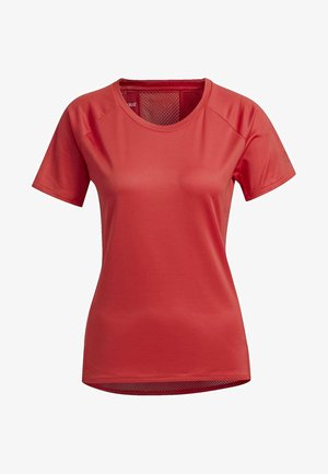 RISE UP N RUN PARLEY - T-shirts - glory red