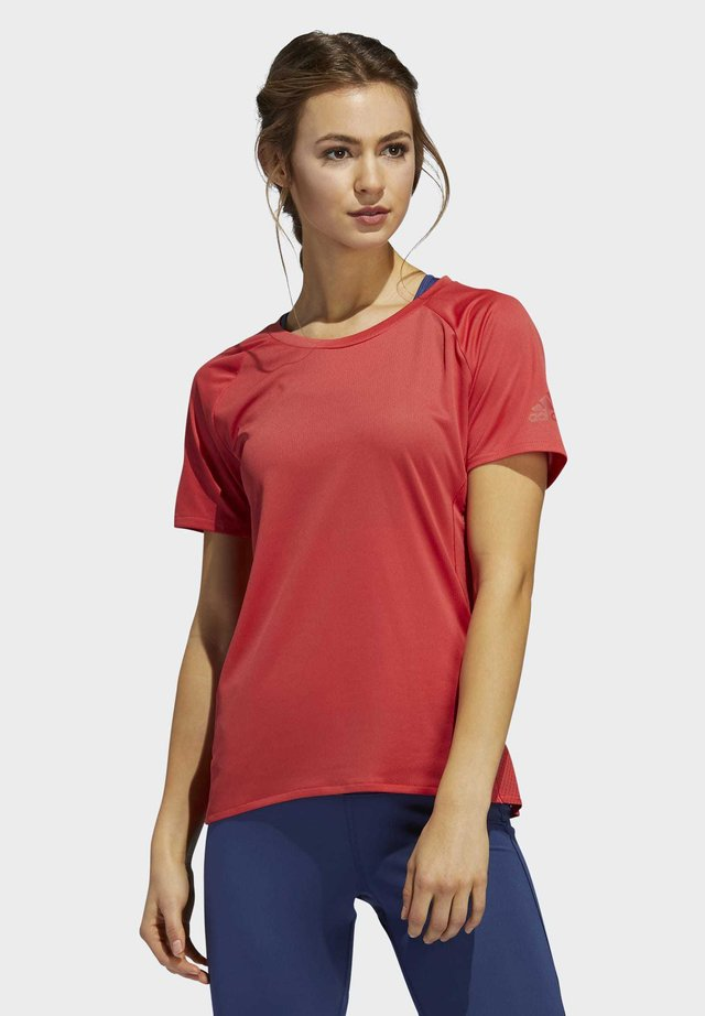 RISE UP N RUN PARLEY - Basic T-shirt - glory red