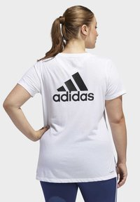 adidas Performance - GO TO T-SHIRT - Print T-shirt - white - 2