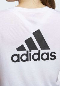 adidas Performance - GO TO T-SHIRT - Print T-shirt - white - 3