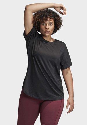 ADIDAS X UNIVERSAL STANDARD PERFORMANCE T-SHIRT  - T-shirt basique - black