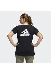adidas Performance - GO TO T-SHIRT - T-shirts print - black - 2