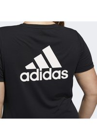 adidas Performance - GO TO T-SHIRT - T-shirts print - black - 6