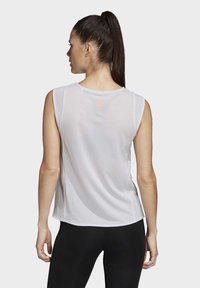 adidas Performance - DECODE TANK TOP - T-shirt sportiva - gray