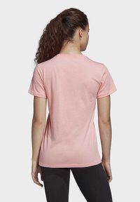 adidas Performance - MUST HAVES BADGE OF SPORT T-SHIRT - Print T-shirt - glory pink - 1