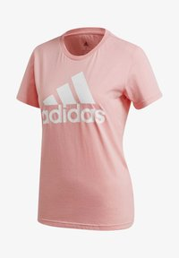 adidas Performance - MUST HAVES BADGE OF SPORT T-SHIRT - Print T-shirt - glory pink - 8