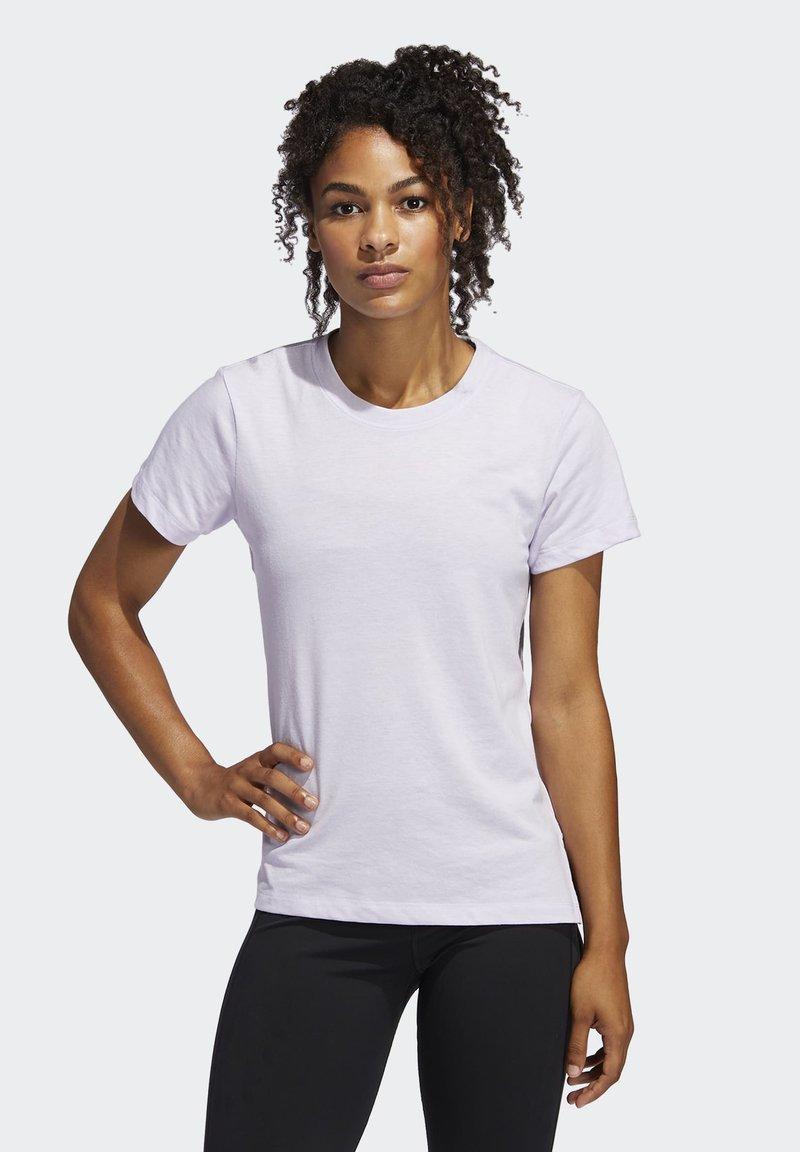 adidas Performance - GO-TO T-SHIRT - T-shirts med print - purple