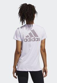 adidas Performance - GO-TO T-SHIRT - T-shirts med print - purple - 1