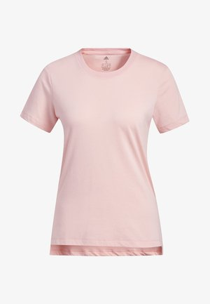 GO-TO T-SHIRT - T-shirt z nadrukiem - glory pink