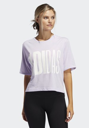 T-SHIRT - Print T-shirt - purple tint