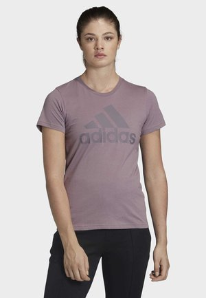 MUST HAVES BADGE OF SPORT T-SHIRT - T-shirt med print - legacy purple
