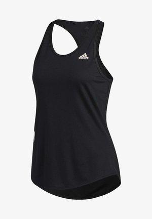OWN THE RUN 3-STRIPES PB TANK TOP - Sportshirt - black