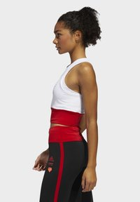 adidas Performance - OWN THE RUN VALENTINE CROP TOP - Topper - white - 2