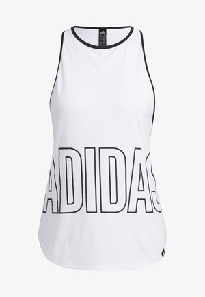 ALPHASKIN GRAPHIC TANK TOP - Top - white