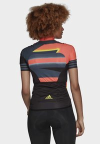 adidas Performance - ADISTAR JERSEY - T-Shirt print - orange/yellow - 2