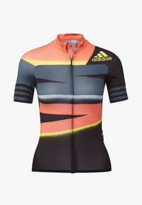 adidas Performance - ADISTAR JERSEY - T-Shirt print - orange/yellow - 8