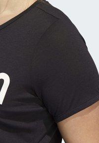 adidas Performance - UNIVERSE T-SHIRT - T-shirts print - black - 8